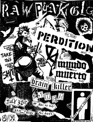 Perdition-Mundo Muerro-Brain Killer @ ABC No Rio New York City NY 7-31-10
