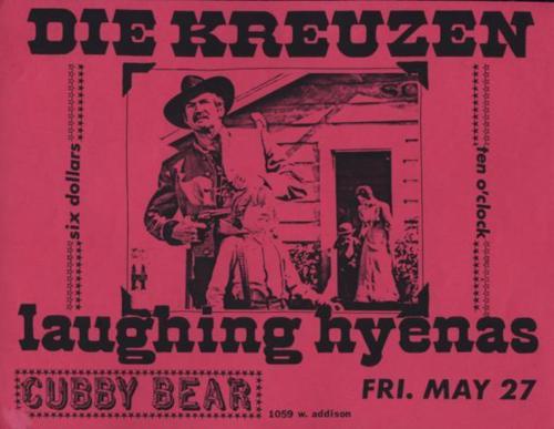 Die Kreuzen-Laughing Hyenas @ Cubby Bear Chicago IL 5-27-88