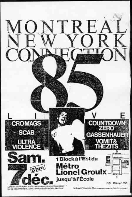Montreal-New York Connection 85