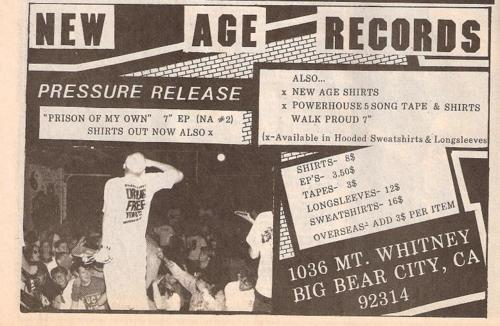 Pressure Release-Prison Of My Own (New Age Records)