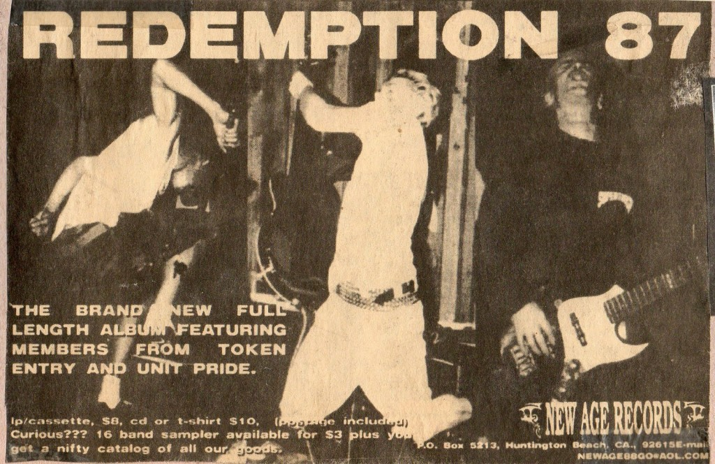 Redemption 87 (New Age Records)