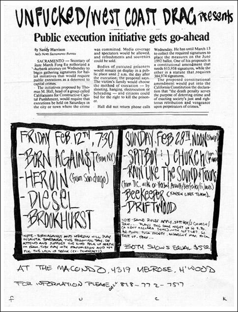 Macondo February 1993