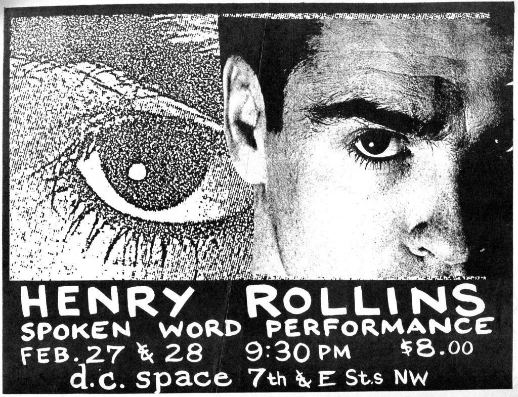 Henry Rollins @ Washington DC