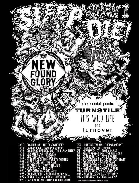 Sleep When I Die Tour 2015