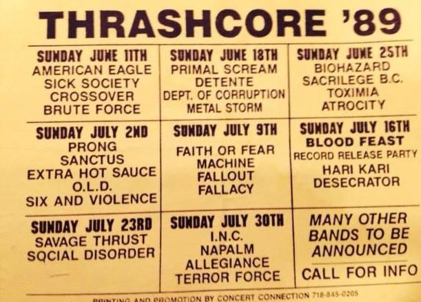 Thrashcore 89