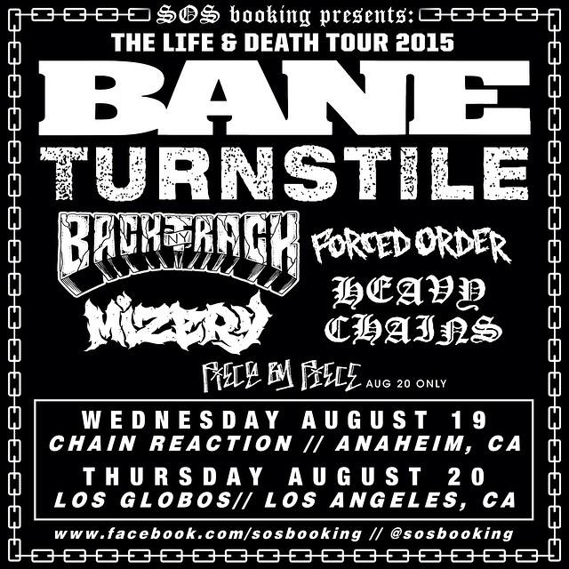 Bane Life & Death Tour 2015