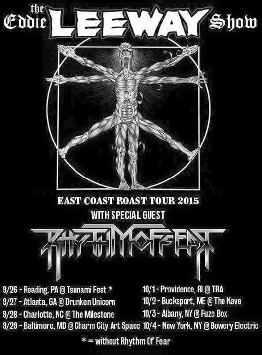 Leeway Tour 2015