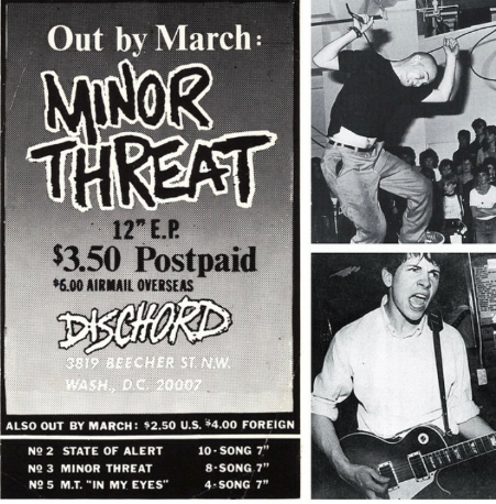 Minor Threat-In My Eyes (Dischord Records)