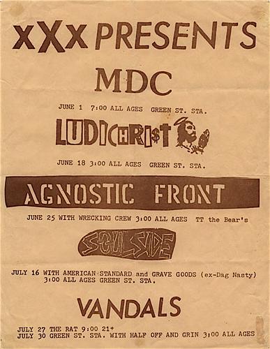 XXX Fanzine Presents Summer 1988