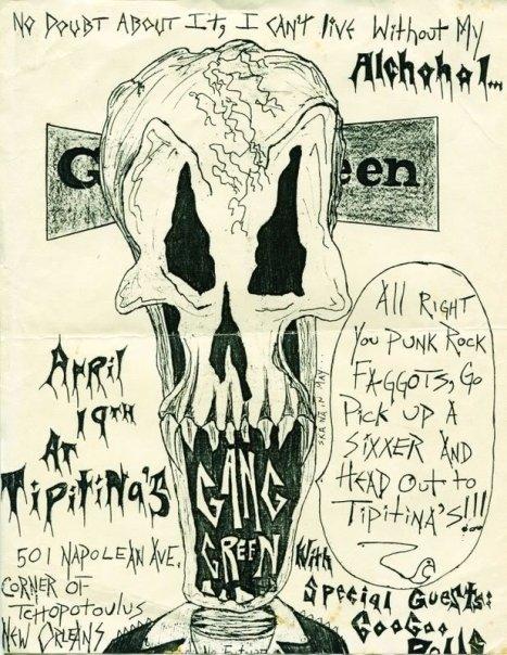Gang Green-Goo Goo Dolls @ New Orleans LA 4-19-UNKNOWN YEAR