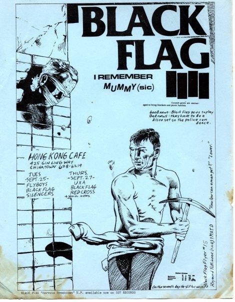 Black Flag @ Los Angeles CA September 1979