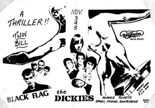 Black Flag-The Dickies @ Vancouver Canada 11-3-80