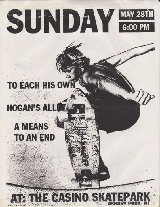 To Each His Own-Hogan's Alley-A Means To An End @ Asbury Park NJ 5-28-00