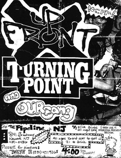 Up Front-Turning Point-Our Gang @ Newark NJ UNKNOWN DATE