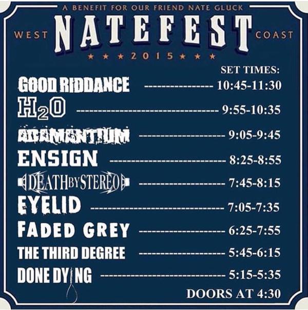 Natefest West Coast