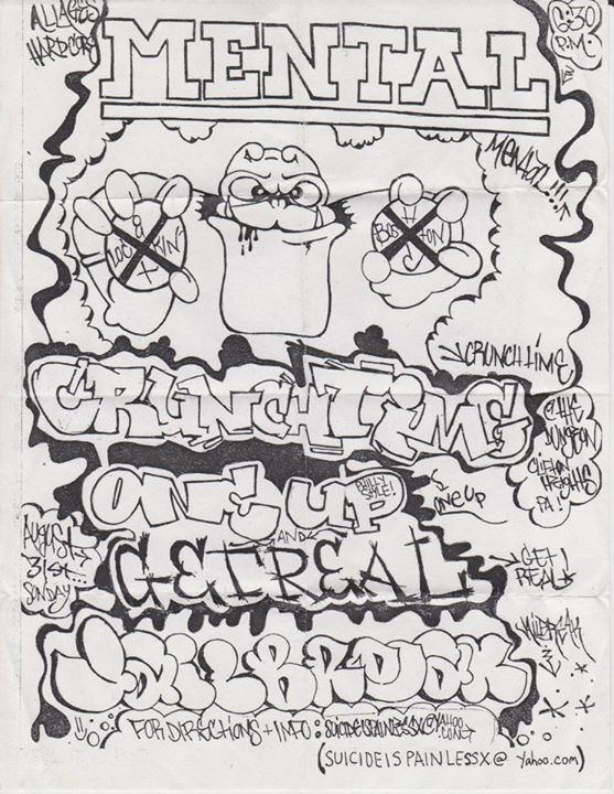 Mental-Crunch Time-One Up-Get Real 8-31-03
