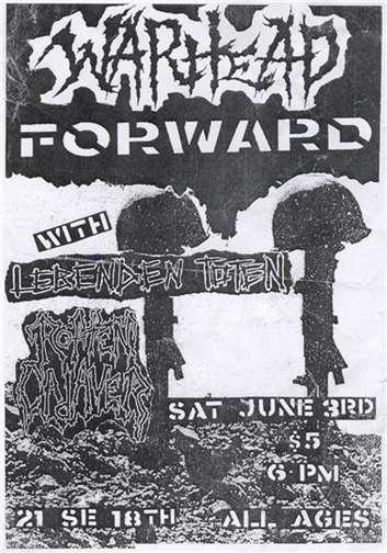 War Head-Forward-Lebenden Toten @ Portland OR 6-3-03