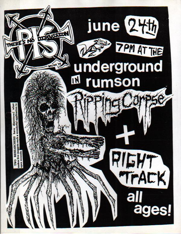 Ripping Corpse-Right Track @ Rumson NJ 6-24-88