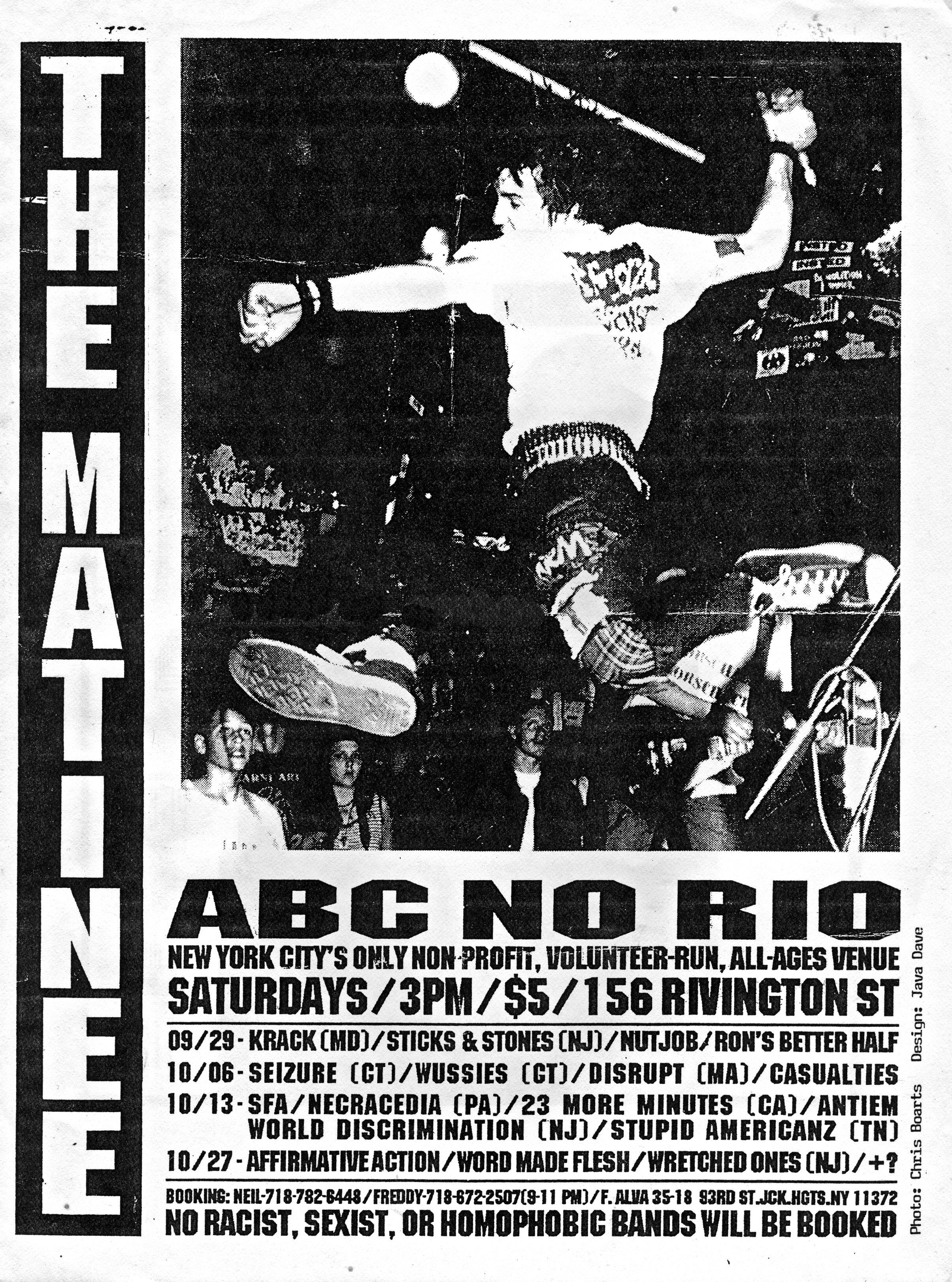 ABC No Rio September 1990