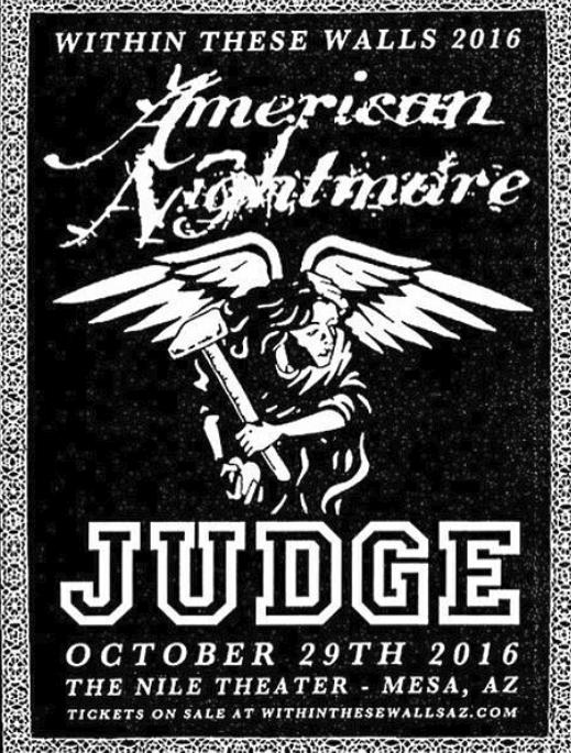 American Nightmare-Judge @ Mesa AZ 10-29-16