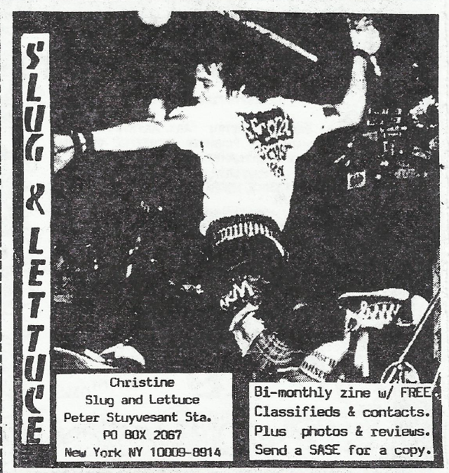 Slug & Lettuce Fanzine (Citizens Arrest)