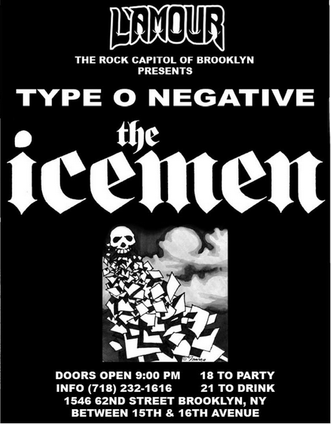 Type O Negative-The Icemen @ New York City NY