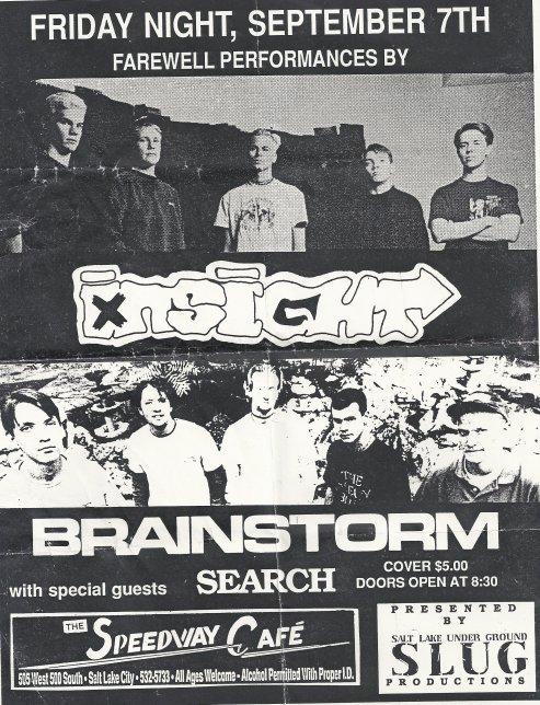 Insight-Brainstorm-Search @ Salt Lake City UT 9-7-90