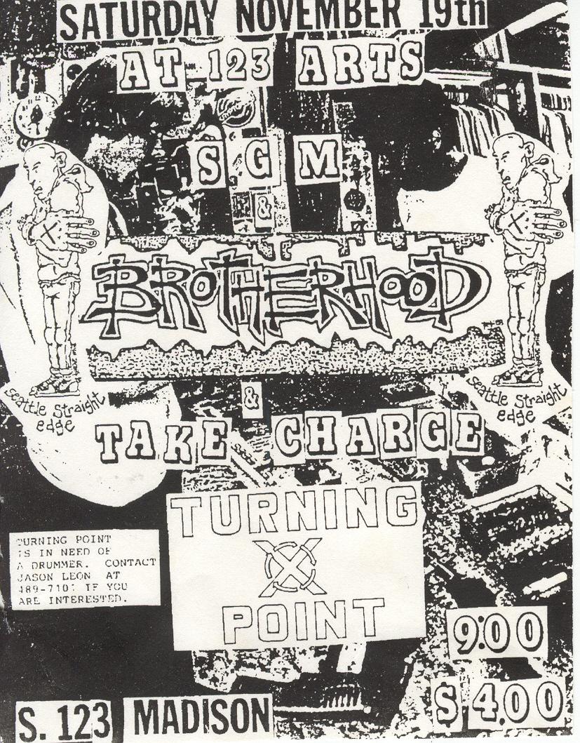 Brotherhood-Take Charge-Turning Point @ Spokane WA 11-19-88