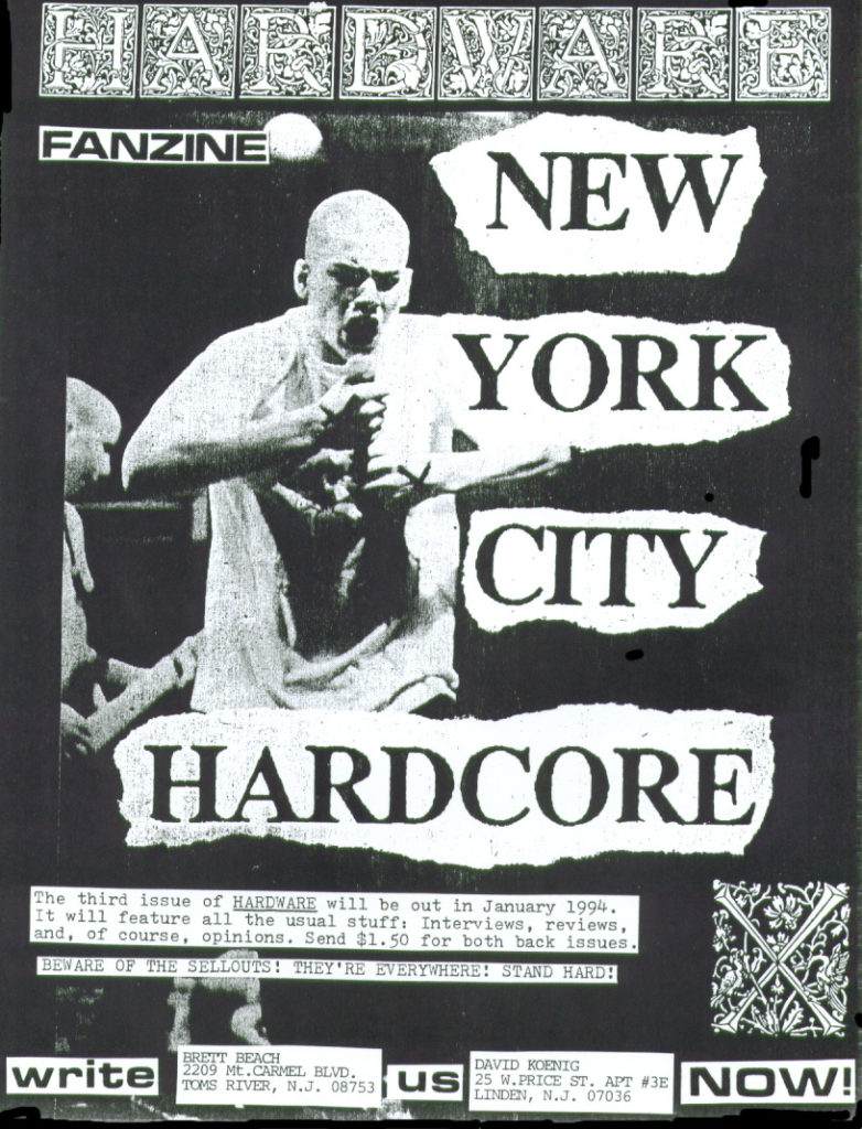 Hardware Fanzine (Straight Ahead)