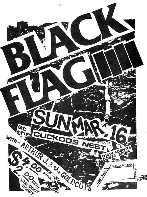 Black Flag @ Costa Mesa CA 3-16-80