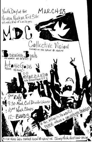 Millions Of Dead Cops-Collective Vision-Burning Bush-Hot Mic Gods-Sforzando @ Las Vegas NV 3-13-UNKNOWN YEAR