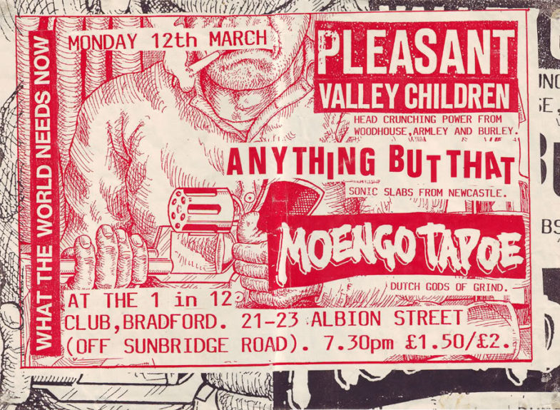 Pleasant Valley Children-Anything But That-Moengo Tapoe @ Bradford England 3-12-90