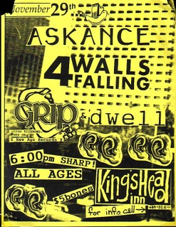 Askance-Four Walls Falling-Grip-Dwell @ Norfolk VA 11-29-UNKNOWN YEAR