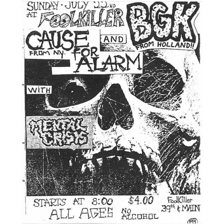 BGK-Cause For Alarm-Mental Crisis @ Kansas City MO 7-22-84
