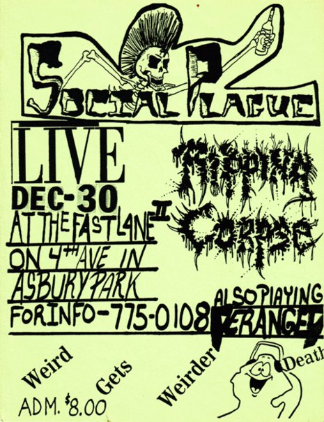 Ripping Corpse-Social Plague-Deranged @ Asbury Park NJ 12-30-UNKNOWN YEAR