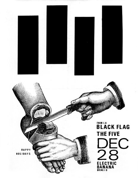Black Flag-The Five @ Pittsburgh PA 12-28-UNKNOWN YEAR