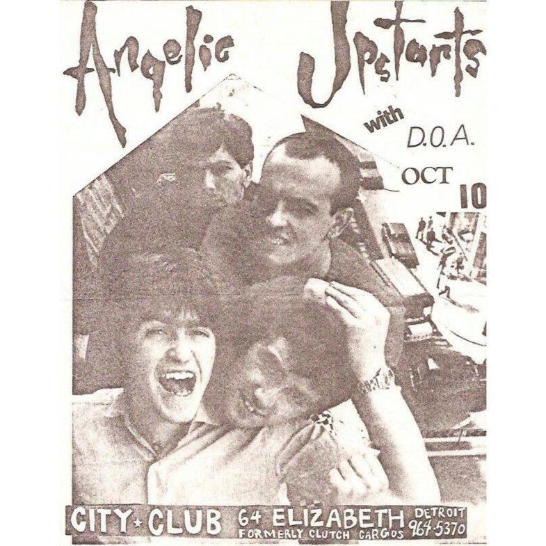 Angelic Upstarts-DOA @ Detroit MI 10-10-82