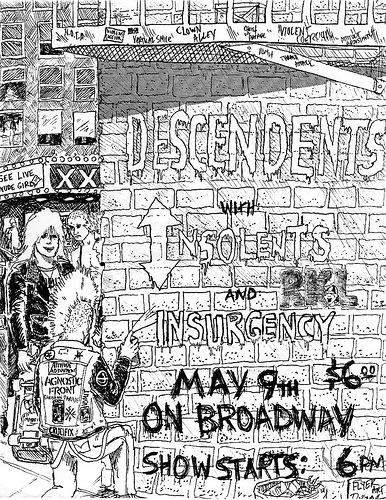 Descendents-Insolents-Insurgency @ San Francisco CA 5-9-UNKNOWN YEAR