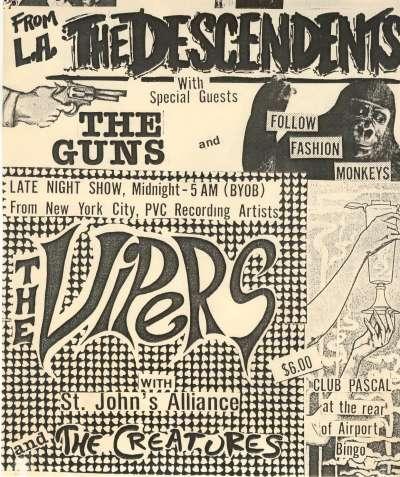 Descendents-The Guns-Follow Fashion Monkeys