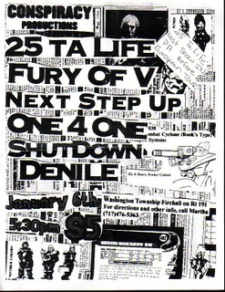 25 Ta Life-Fury Of V-Next Step Up-One 4 One-Shutdown-Denile @ Washington NJ 1-16-UNKNOWN YEAR