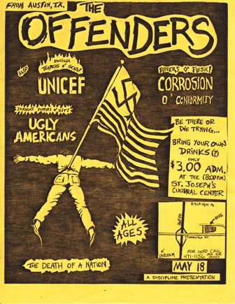 The Offenders-Corrosion Of Conformity-Unicef-Ugly Americans @ Grass Valley CA 5-18-UNKNOWN YEAR