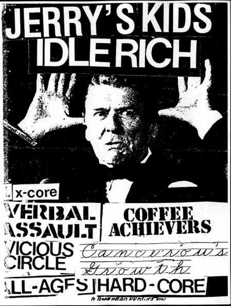 Jerry's Kids-Idle Rich-Verbal Assault-Vicious Circle-Coffee Achievers @ UNKNOWN LOCATION/YEAR