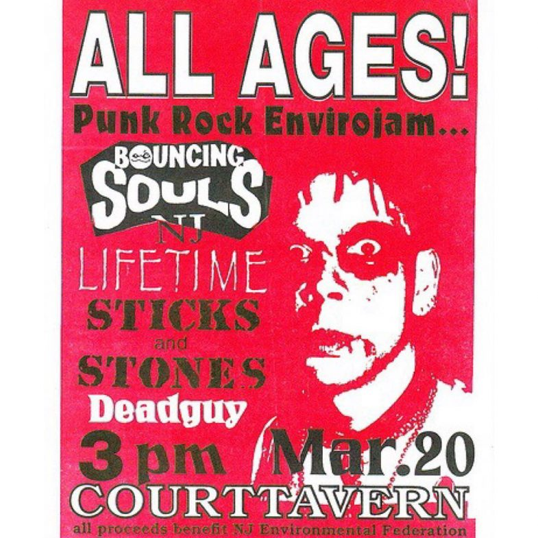 Bouncing Souls-Lifetime-Sticks & Stones-Deadguy @ New Brunswick NJ 3-20-UNKNOWN YEAR