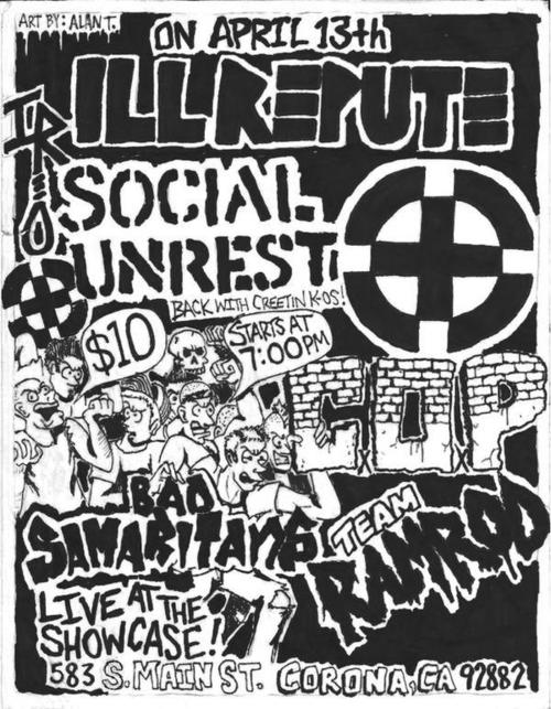 Ill Repute-Social Unrest-Bad Samaritans @ Corona CA 4-13-UNKNOWN YEAR