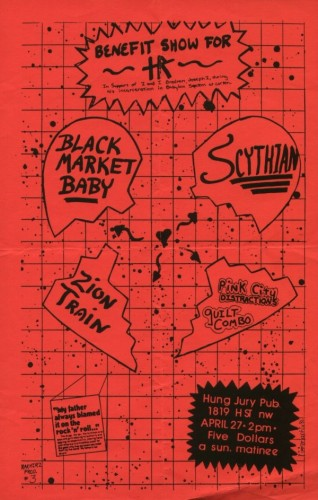 Black Market Baby-Zion Train-Scthian-Pink City Distractions  @ Washington DC 4-27-UNKNOWN YEAR