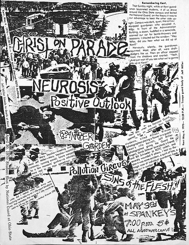 Christ On Parade-Neurosis-Positive Outlook-Pollution Circus-Sins Of The Flesh @ Riverside CA 5-3-UNKOWN YEAR