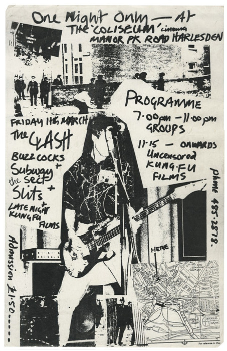 The Clash-Buzzcocks-Subway Sect-The Shits @ 1977