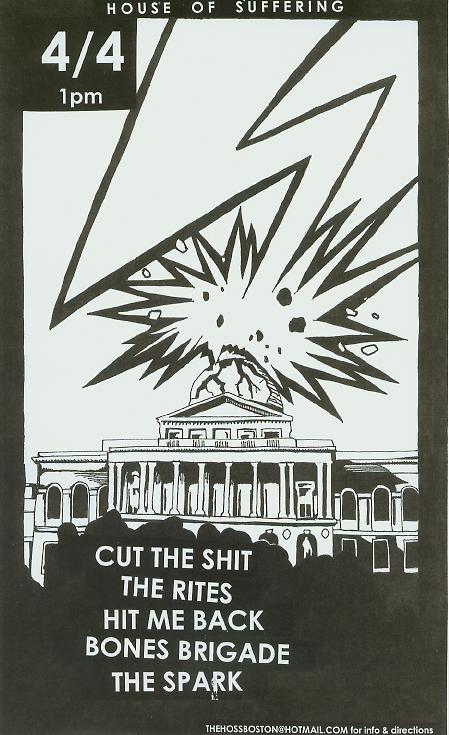 Cut The Shit-The Rites-Hit Me Back-Bones Brigade-The Spark @ Washington DC 4-4-UNKNOWN YEAR