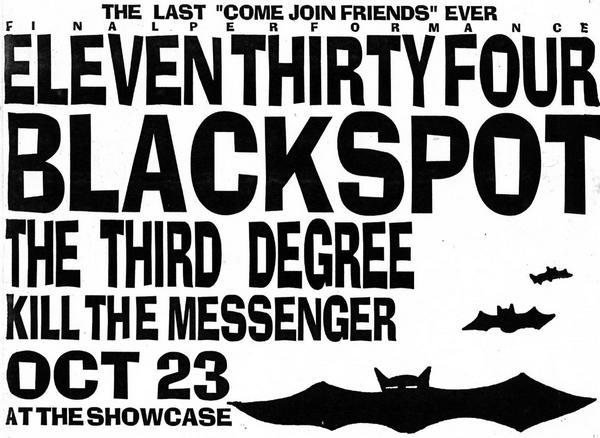 1134-Blackspot-The Third Degree-Kill The Messenger @ Corona CA 10-23-UNKNOWN YEAR