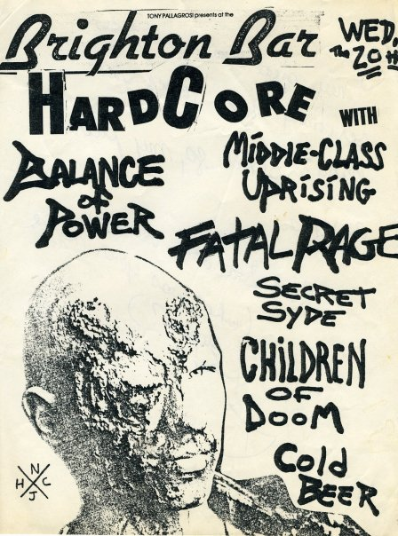 Balance Of Power-Middle Class Uprising-Fatal Rage-Secret Syde-Children Of Doom @ Long Branch NJ